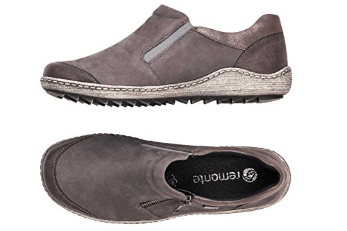 R1403 Gris on Slip Shoes Womens Remonte Casual PRwO0dxq