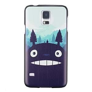 YULIN caso duro del patrón de monstruo de dibujos animados para i9600 Samsung Galaxy S5