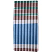 Uzhaippali Men's Cotton Lungies (Multicolour_Free Size)