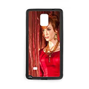 Celebrities Beautiful Christina Hendrix Samsung Galaxy Note 4 Cell Phone Case Black Protect your phone BVS_699598