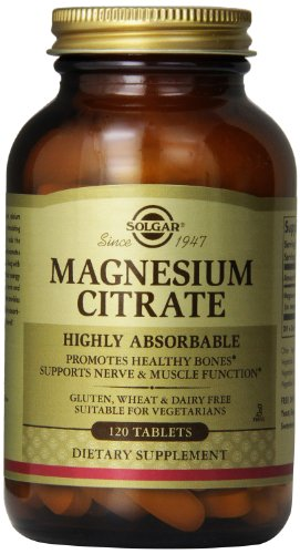 Solgar - Magnesium Citrate 120 tablets