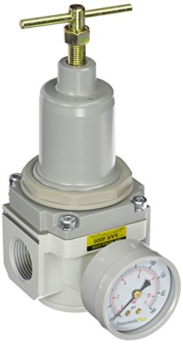 PneumaticPlus SAR4000T N06BG Pressure Regulator T Handle