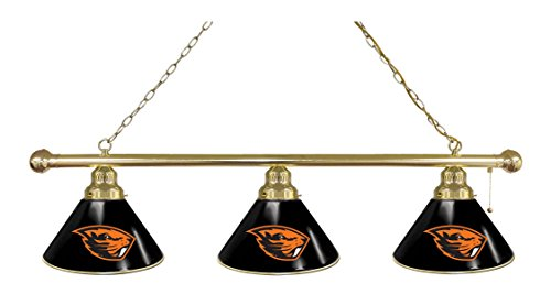Oregon State 3 Shade Billiard Light by Holland Bar Stool Co.