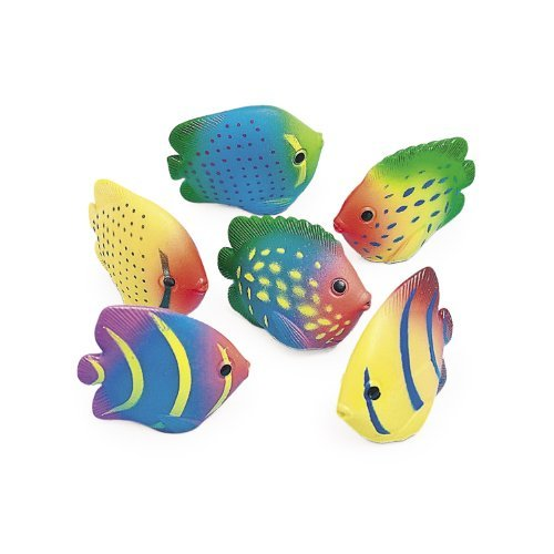 Vinyl Mini Tropical Fish Squirts (1 (Squirt Fish)