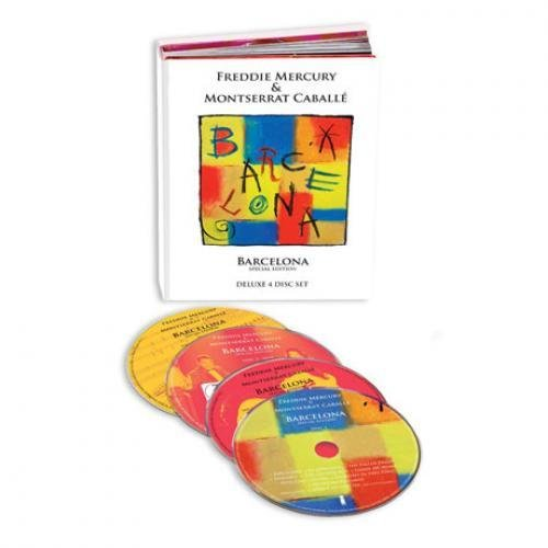 BARCELONA [3CD+1DVD] [SPECIAL EDITION] by FREDDIE MERCURY/ MONTSERRAT CABALLE [Korean Imported] (2012)