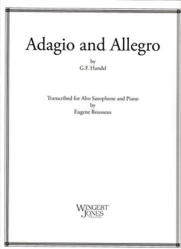 Adagio and Allegro for Alto Saxophone and Piano