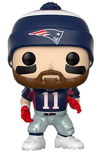 Collectable Figurines  Funko Pop NFL: Julian Edelman Patriots Home Collectible Figure was