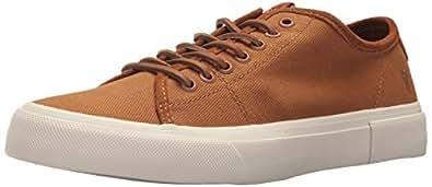 FRYE Men's Ludlow Low Tennis Shoe, Cognac, 7 M