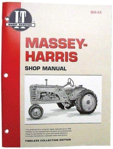 I&T Shop Manual Collection, New, Massey Ferguson, Avery, Minneapolis  Moline: Home Improvement - Amazon.comAmazon.com