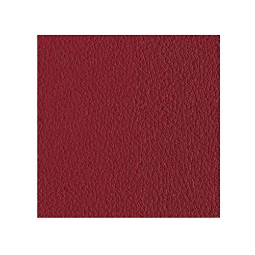 Faux Leather Fabric Calf Dark Red (Champion Cinnabar)(1 yard)