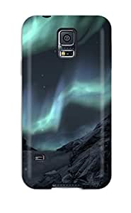 New Premium Flip Case Cover Dragons Skyrim Video Game Other Skin Case For Galaxy S5