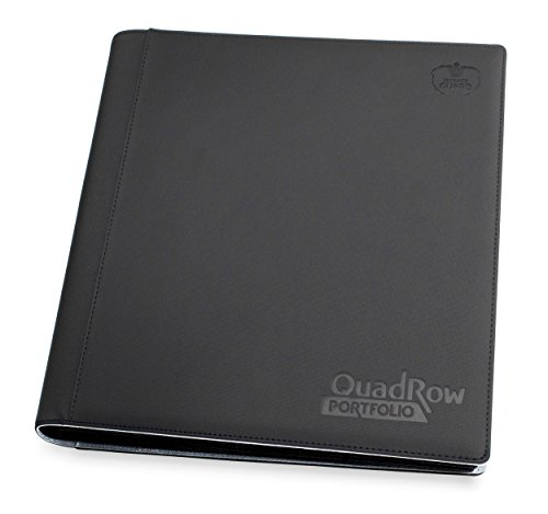 Ultimate Guard Quadrow Portfolio Xenoskin Deck Case, Black