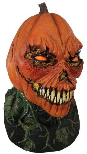 Creepy Possessed Pumpkin Costume Mask for Halloween Party