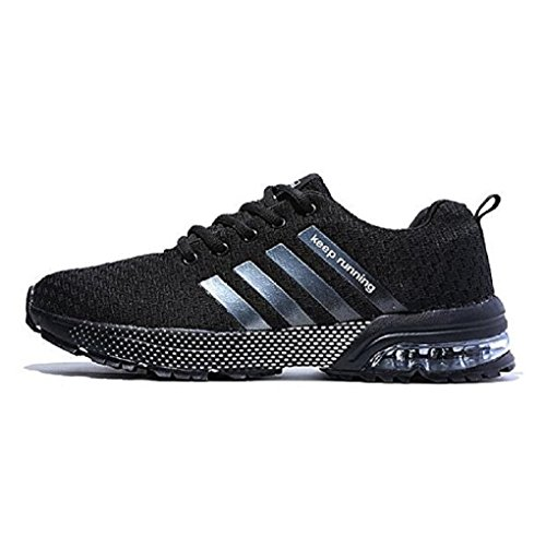 XIDISO Mens Running Shoes Lightweight Air Cushion Sneakers Sport Cross Training Athletic Tennis Shoe for Men ()