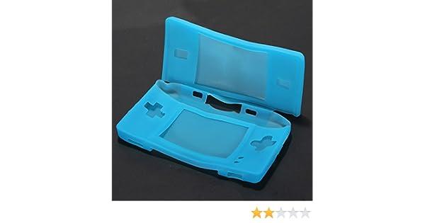 SATKIT Funda potectora Silicona para Nintendo DS lite AZUL ...