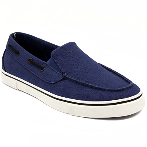 Nautica Mens Doubloon Boating Shoe  Estate Blue  8 5 M Us
