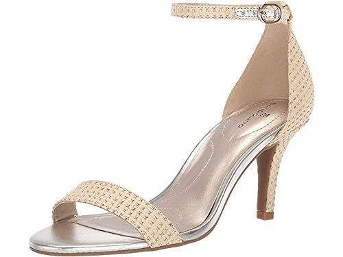 - Bandolino Womens Madia Gold Leather Fabric 6.5 M