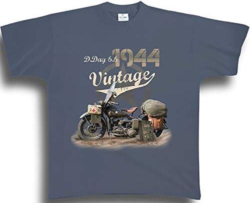bricabreizh t Shirt d Day Vintage Moto 18799