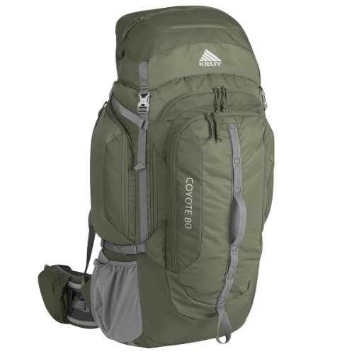 Kelty Coyote 80 Internal frame Backpack, Forest Night, Small/Medium, Outdoor Stuffs