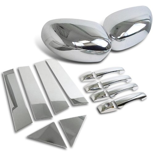 Chrysler 300 Magnum Mirror Cover+Door Handle Cover+Pillar Trims (Chrysler 300 Back Bumper compare prices)
