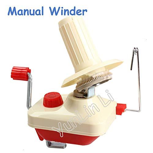Fetcus 48pcs/lot Household Manual Winder Handheld Coil Winding Machine Swift Yarn Fiber String Ball Winding Machine