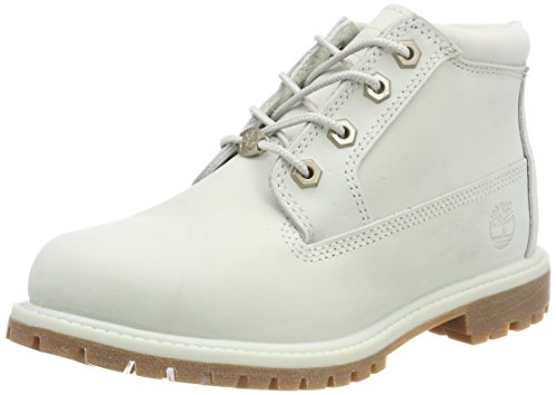Timberland Nellie Double Collar, Stivali Chukka Donna Blu (Blue Flower Waterbuck K34)