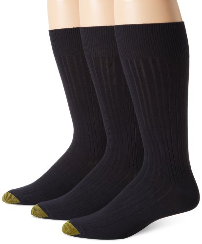 Gold Toe Men's Milan  Dress Sock (Pack of 3)