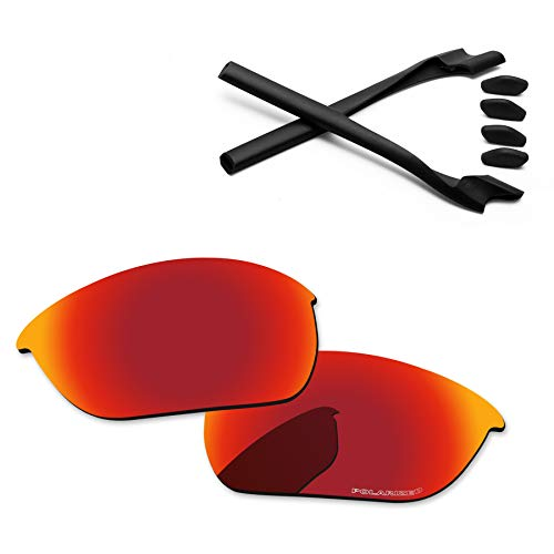 bc9a2ee00f4 PapaViva Replacement Lenses   Rubber Kits for Oakley Half Jacket 2.0