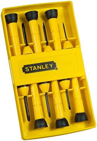 Stanley スタンレー ドライバセット 6個 精密 0-66-052