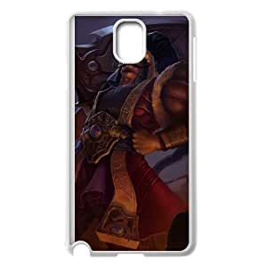 Samsung Galaxy Note 3 Cell Phone Case White League of Legends Sultan Tryndamere OIW0409896