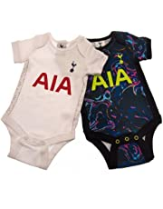 Tottenham Hotspur FC Baby Kit 2 Pack Bodysuits | 2021/22 (12-18 maanden) Blauw