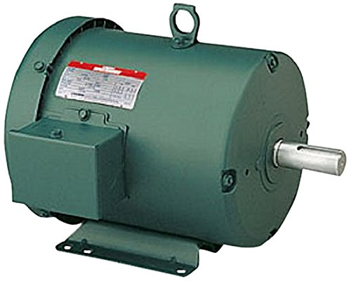 Leeson 131464.00 General Purpose Motor, 3 Phase, 184T Frame, Rigid Mounting, 5HP, 1800 RPM, 208-230/460V Voltage, 60Hz Fequency