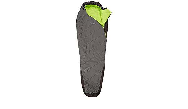 McKinley X-Treme Light 1000 III - Saco de Dormir Tipo Momia, Unisex, Mumien-Schlafsack X-Treme Light 1000 III, Anthra/Schwarz/Lime, 195R: Amazon.es: ...