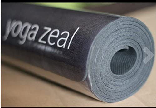 Yoga Zeal Yoga Mats Luxuriously Soft, Thick, Non-Slip, Hot Yoga Mat. Eco Printed. Designed to Grip Better with a Sweaty Yoga Practice