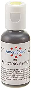 Americolor Gel Paste Food Color, Electric Green