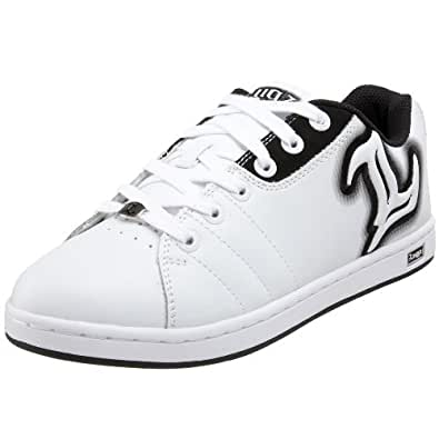 Lugz Men's Reflector Sneaker,White/Black,6.5 D US