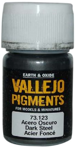 - Vallejo Earth and Oxide Pigments, Dark Steel
