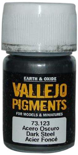 Vallejo Earth and Oxide Pigments, Dark Steel