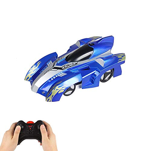 Layopo Wall Climbing Remote Control Car, Rechargeable Dual Mode 360° Rotation Stunt RC Cars LED Head Gravity Defying Vehicles for Kids Boy Girl Teenagers Adults Birthday Gifts