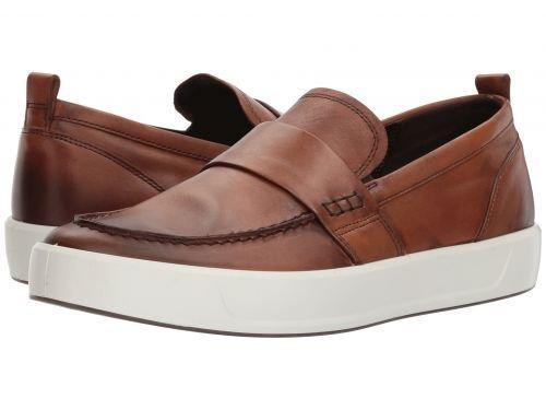 ECCO(エコー) メンズ 男性用 シューズ 靴 スニーカー 運動靴 Soft 8 Loafer - Lion [並行輸入品] B07BLRG7TM