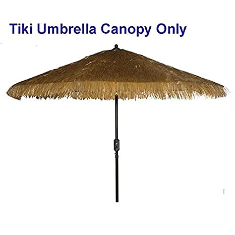 Amazoncom Tiki Umbrella Thatch Patio Umbrella Canopy Replacement