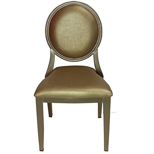 Entrada EN111823 Louis Chair with Aluminum Frame, 18