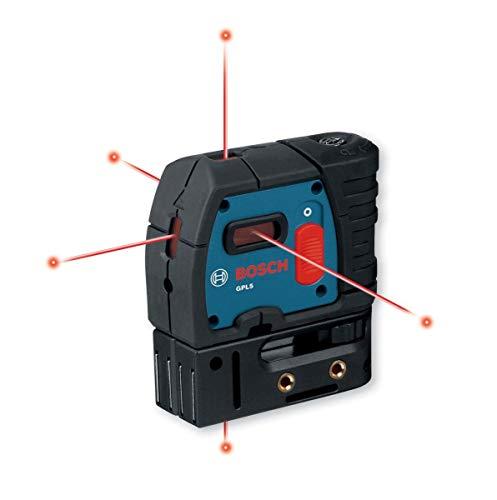 Bosch GPL5-RT 5 Point Self Leveling Alignment Laser (Renewed)