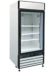 Maxx Cold MXM1-16F X-Series Reach In Freezer Single Glass Door