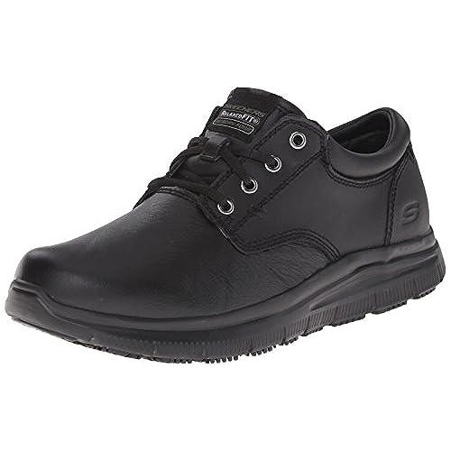 bf0ec9e52a7 Skechers for Work Men's Flex Advantage Slip Resistant Prien Walking Shoe free  shipping