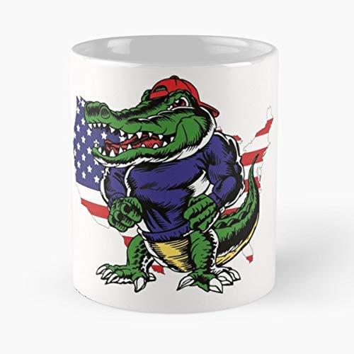 Crocodile Alligator Crocodiles - Coffee Mugs Unique Ceramic Novelty Cup
