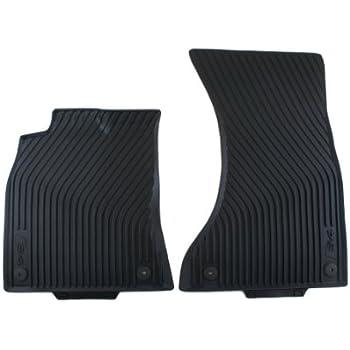 amazon com genuine audi accessories 8k1061221a041 black all weather rh amazon com Audi A4 Floor Mats Original Audi OEM Floor Mats