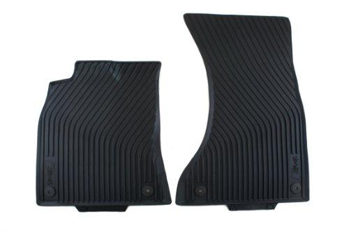 Genuine Audi Accessories 8K1061221A041 Black All-Weather Floor Mat for Audi S4 Sedan/Avant