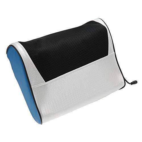 Masajeador de Cuello eléctrico Hombro Cuerpo Multifuncional Amasadora de almohada con calor para hombros, espalda baja,...