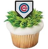 MLB Chicago Cubs Cupcake Rings - 24 ct